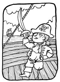 Purchase these pirate coloring sheets for your child today and maybe. Pirate Child Pirates Coloring Pages For Kids To Print Color