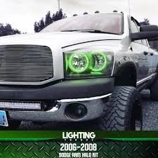 Halo Lights For 2006 Dodge Ram 2006 2008 Dodge Ram Halo Kit