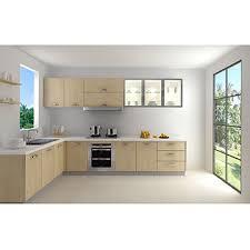 china artia apartment modern custom new design yellow melamine kitchen cabinet with quartz countertop