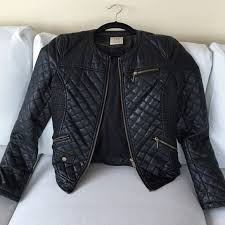 34% off Zara Jackets & Blazers - Zara TRF Faux Leather Quilted ... & Zara TRF Faux Leather Quilted Jacket Adamdwight.com