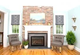 electric fireplace brick property brothers electric fireplace brick surround in mill electric insert for brick electric fireplace