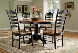 round with leaf to oval dining room table rountree s furniture and decor