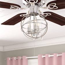 Gracie Oaks 3-Light LED Globe Ceiling Fan Light Kit \u0026 Reviews | Wayfair