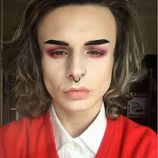 90s grunge makeup design