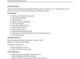 Fine Medical Technologist Resume No Experience Component Example