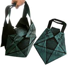 Japanese Designer Bag Geometric New Issey Miyake 132 5 Geometric Star Pleat Origami