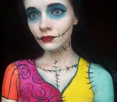 nightmare before sally makeup by iranyaaasha