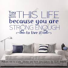 Quotes wall stickers Islamic Wall Art Stickers Nursery Wall Stickers Removable Vinyl 64