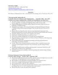 Extraordinary Sample Resume Accounting Manager On Sample