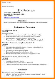 14 Accounting Internships Resume Job Apply Form