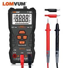 <b>LOMVUM TRUE RMS</b> Multimeter 6000 COUNTS High Precision ...