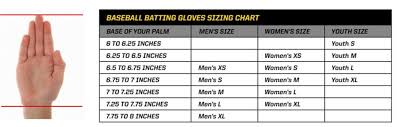 Catchers Mitt Size Chart 10 Best Batting Gloves Reviews Sizing Buying Guide 2019
