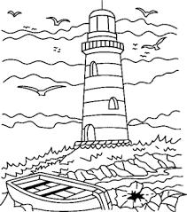 Leuchttürme sind verführerisch und mystisch mit einem gewissen sinn für größe und oft. Leuchtturm Malvorlagen Coloring And Malvorlagan