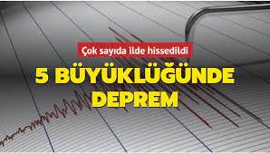 Son dakika deprem haberleri... Kütahya Altıntaş'ta 5 büyüklüğünde deprem!  Eskişehir ve Ankara'da hissedildi
