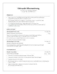 Resume Templates Open Office Free Fascinating Openoffice Resume Templates Resume Plate For Inspirational Resume