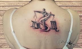 Tetování Na Zádech Marťa Tattoo Studio