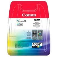 Набор <b>картриджей Canon PG</b>-<b>40</b>/CL-41 <b>Multipack</b> (0615B043 ...