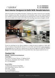 Office Interior Designer In Noida Ppt Interior Designers In Noida Powerpoint Presentation