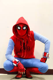 homemade spider man suit costume