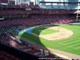 Busch Stadium View From First Base Loge 237 Vivid Seats