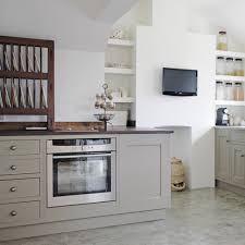 Tv In Kitchen Kitchen Wall Mount Tv Also Wooden Plate Rack Storage And Grey