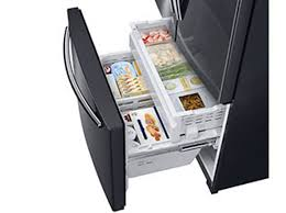 samsung black stainless fridge. Perfect Stainless Auto Pullout Freezer Drawer To Samsung Black Stainless Fridge C