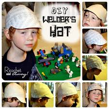Welding Hat Pattern Simple Ricochet And Away Welder's Hat I Found A Free Pattern