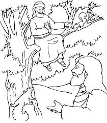 They can serve as a great take home activity. Zacchaeus Coloring Page Sunday School Coloring Pages Jesus Coloring Pages Zacchaeus