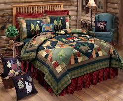 Moose Quilt | eBay & TIMBERLINE Full / Queen QUILT SET : LODGE MOOSE BEAR CABIN PINE TREES  COMFORTER Adamdwight.com