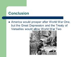 chapter world war and its aftermath to ppt 26 conclusion