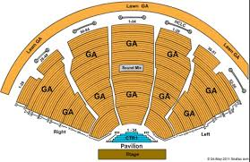 Pine Knob Seating Chart Dte Energy Music Theatre Tickets In Clarkston Michigan
