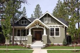 small craftsman house plans. Craftsman Style, Bungalow Design, Elevation Small House Plans A