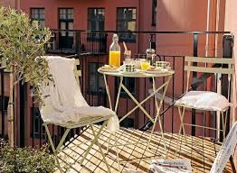 small balcony design ideas wooden floor metal patio furniture patio furniture for small patios