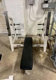nautilus olympic flat bench used