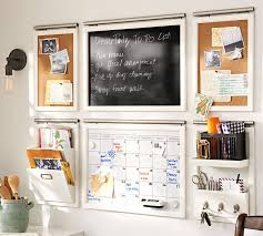 Home office wall Shelving Pottery Barn Build Your Own Daily System Components Creamy White Pottery Barn