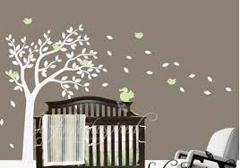 tree wall art for baby nursery