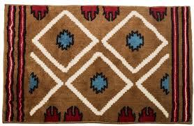 catchy 72 inch bath rug runner hxbw3514 santa fe southwestern bathaccent rug southwestern