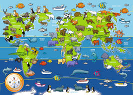 all animals in the world pictures. Brilliant The Animals Of The World Giant Floor Puzzle 60pc PuzzlesChildren S Puzzles   Image Throughout All In The Pictures
