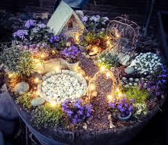 fairy garden container ideas. 12. Some Enchanted Evening Fairy Garden Container Ideas I