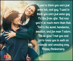 Anniversary Quotes For Him Simple Love Anniversary Quotes For Him 48 Quotes That'll Make Him Teary