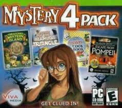 A great journey awaits you in games such as murder in new york and deadtime. Escape From Pompeii Treasures Of Mystery Island Pc Cd 4 Hidden Object Games Ebay