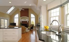 White Cabinets Living Room Kitchen Brandnew Ideas Rooms Design Kitchen Open Living Room