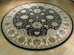 timely round indoor rugs 8 foot circular stylish contemporary braided area