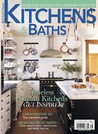 Kitchen And Bath Magazine Dream Kitchen And Bath Magazine Simpleonlineme