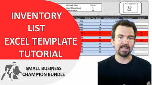 Inventory Template For Excel Inventory Spreadsheet Template Excel Product Tracking Youtube
