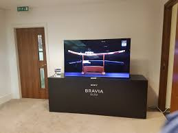 sony tv 4k oled. sony bravia a1 4k oled tv at smc london event tv 4k oled