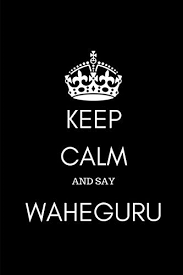 keep calm and say waheguru sikh journal diary notebook for men and women
