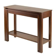 Drop Leaf Round Dining Table Furniture Extending Table Expandable Console Table Drop Leaf
