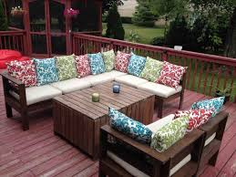 outdoor deck furniture ideas pallet home. Home Projects Great Patio Furniture Cushion Covers Diy Outdoor Cushions Pallet Ideas Pallets T Deck Couch Sofa Made From Table Plans On Budget Patterns For F