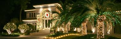 cool christmas house lighting. Christmas Lights House \u0026 Palm Trees Cool Lighting